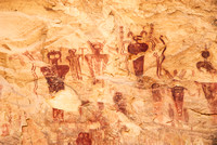 Sego Canyon, Pictographs, 2013
